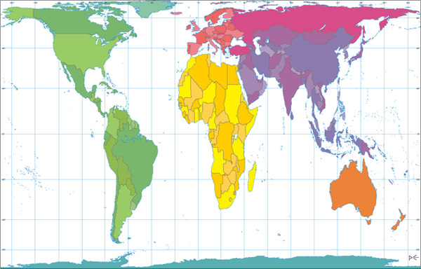 World Peters Projection